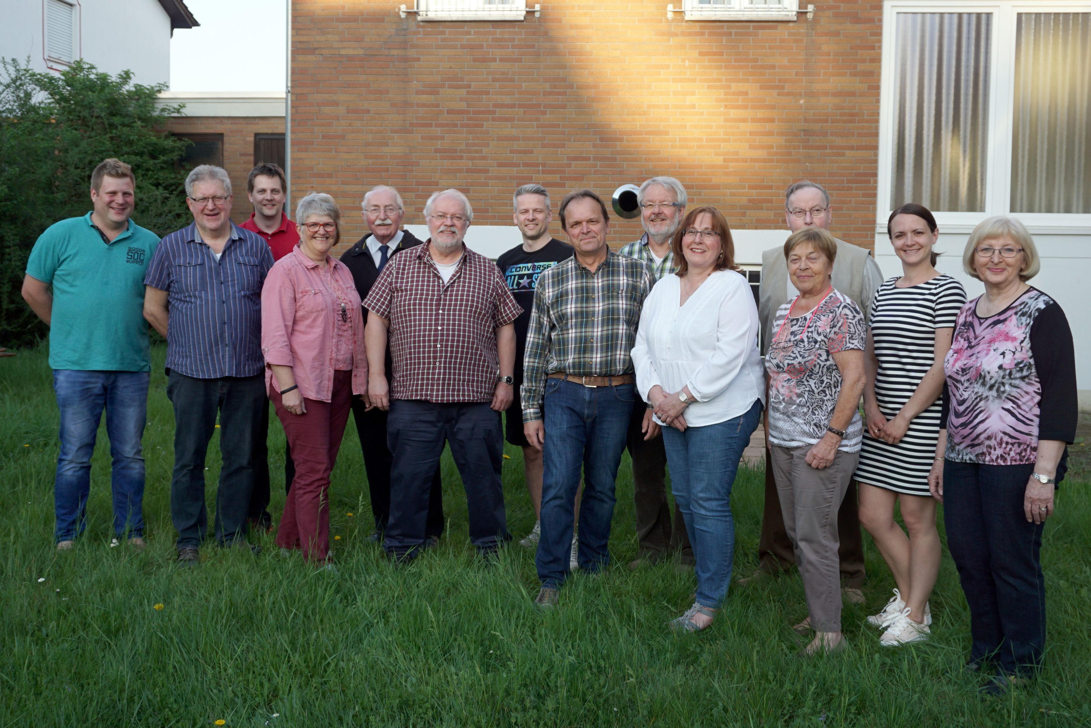 Vorstand der Kolpingsfamilie Weinheim 2018