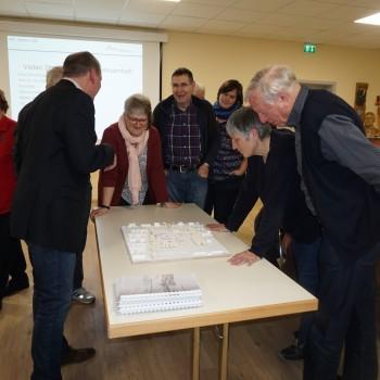 Informationen über das geplante Schulzentrum in der Weststadt und das Rolf Engelbrecht Haus